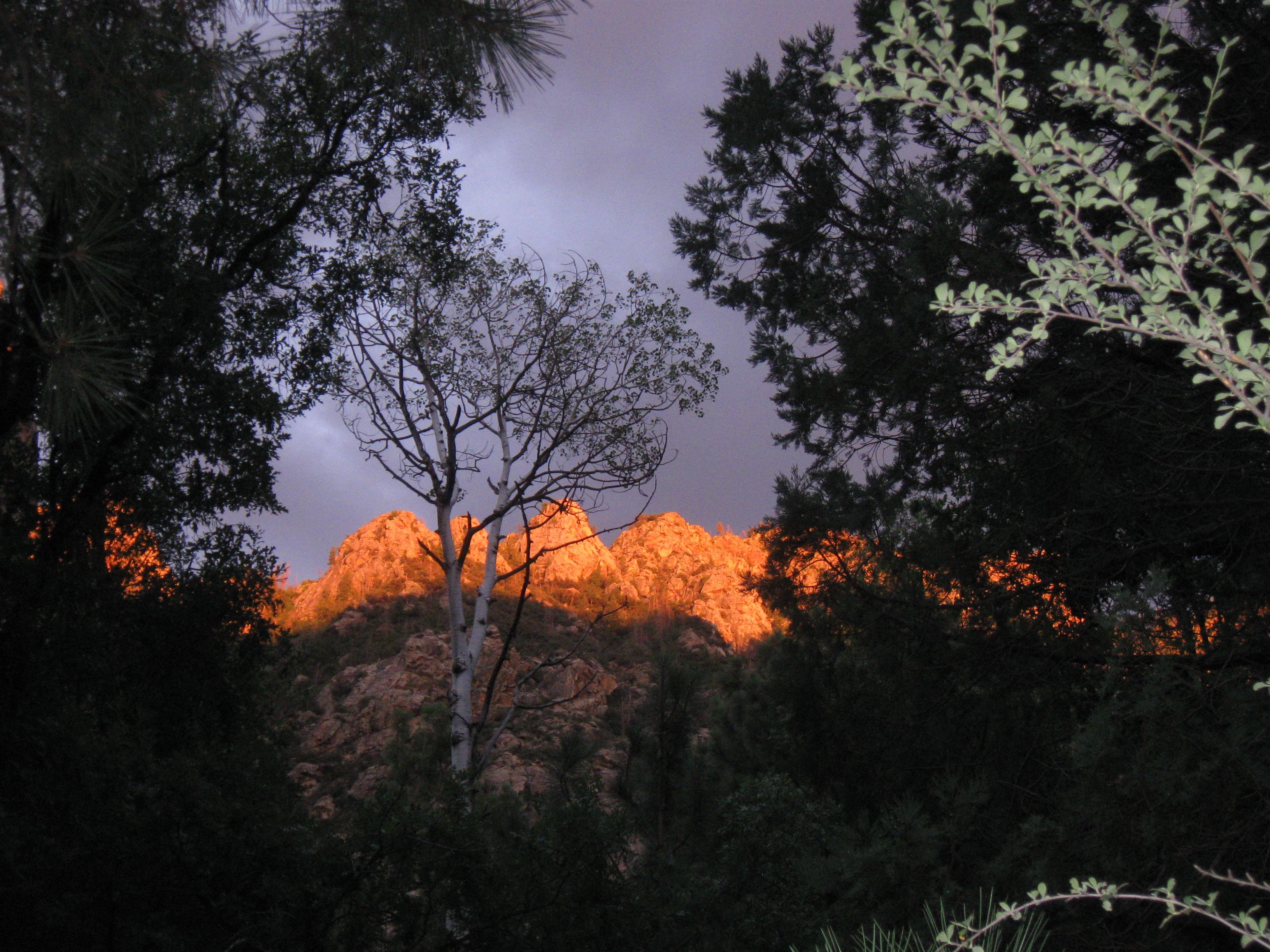 Sunset on The Pinnacles