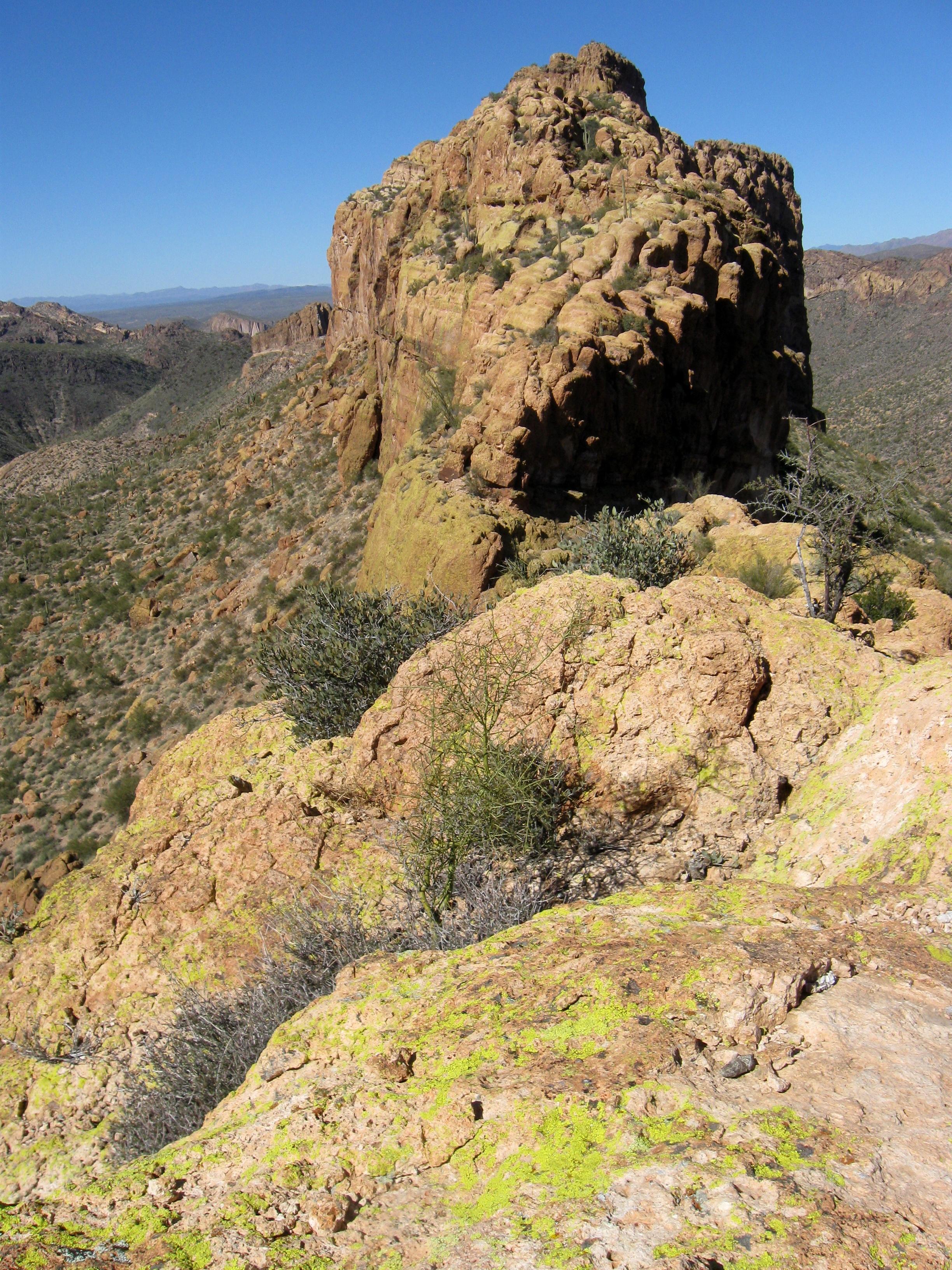 Battleship Mountain, Superstition Wilderness | Sirena's ...