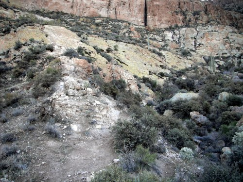 Base of the first scramble