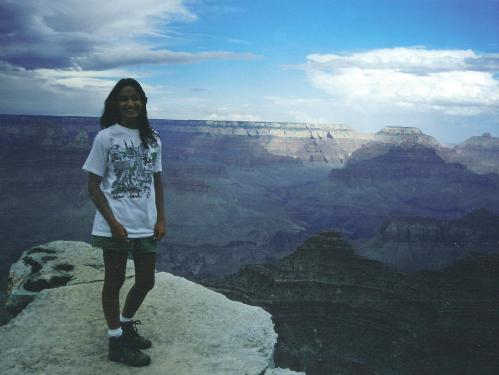 My first visit to the Grand Canyon- 1994