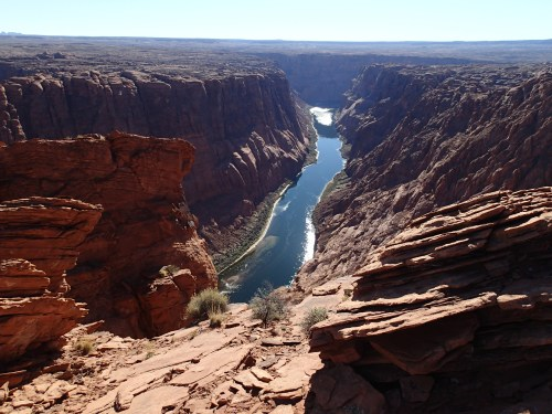 Amazing overlook of the Colorado River