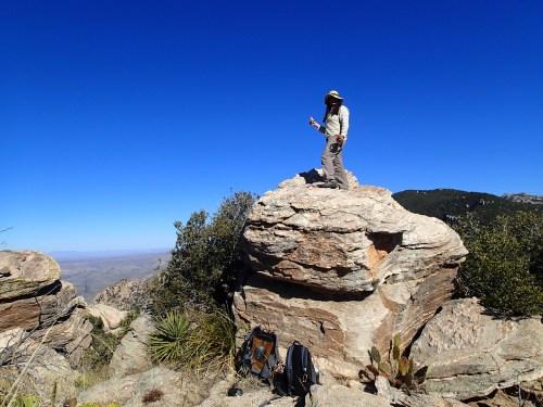Atop the summit jar spot