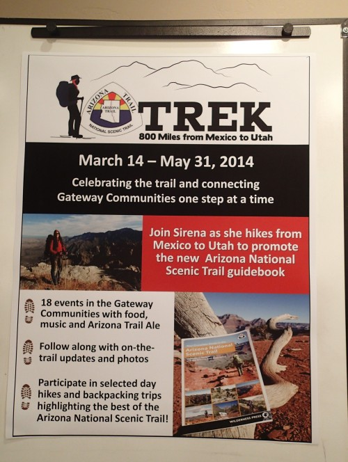 Arizona Trail Trek poster