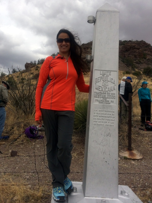 Monument 102 at the Mexican border