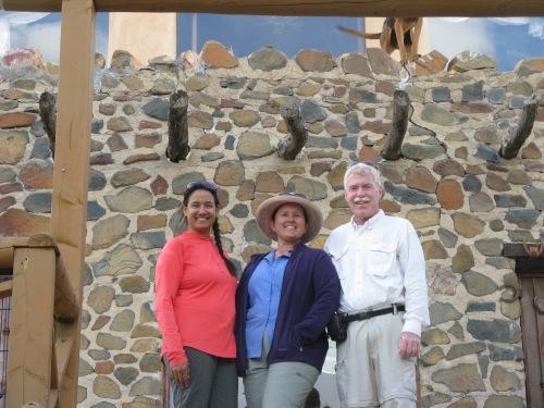 Sirena, Wendy and Bill at High Jinx Ranch