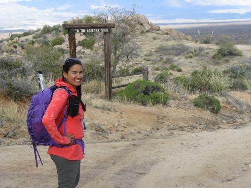 Arizona Trail portal at High Jinks Ranch
