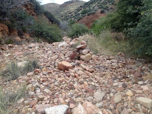 Cottonwood Canyon without water