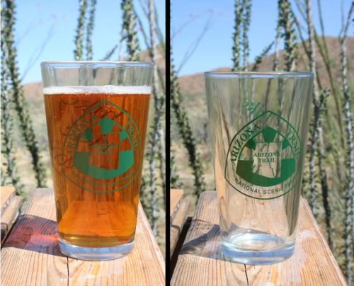 Arizona Trail Pint Glass