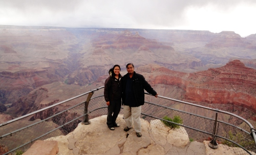 Me and my Dad at the Grand Canyon