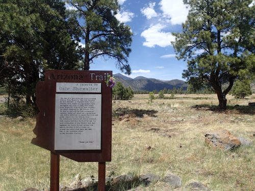 Memorial for Dale Shewalter- Father of the Arizona Trail