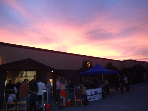 Great night for some music, food, and beer at Wanderlust Brewing Company