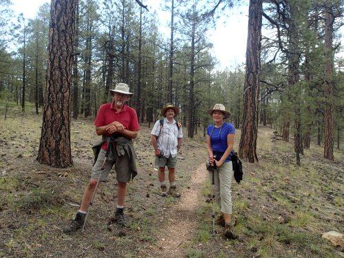 Trail stewards in their natural environment