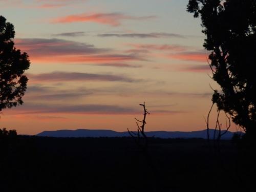 Last sunset of the Arizona Trail Trek