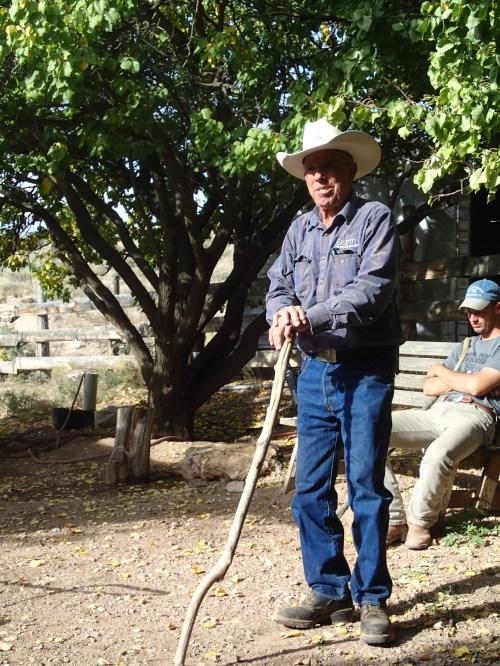 Garth Bundy tells stories of long ago on the Arizona Strip
