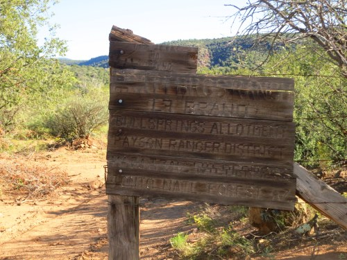 LF Ranch Sign