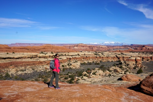 Loving exploring Canyonlands- I need to come backpacking here!