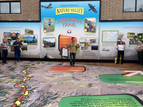 Arizona Trail Courtyard Display