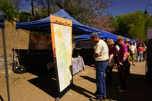 Folks at the Arizona Trail Booth
