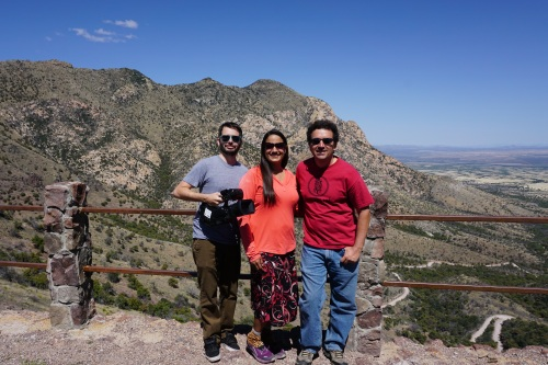 Nate, me and Tony at Montezuma Pass