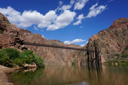 Black Bridge over the Colorado River