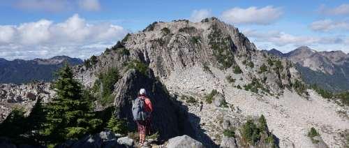 Gorgeous views of Cat Peak