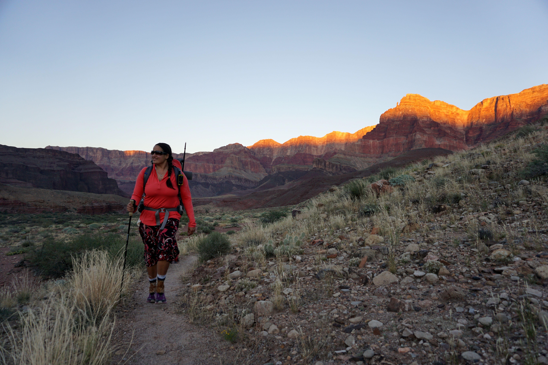Hiking to Cardenas