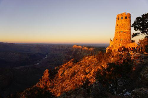 Sunset at Desert View