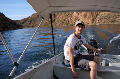 Mr. Boat Driver Man Chase