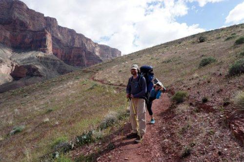 Ever descending on the Tanner Trail
