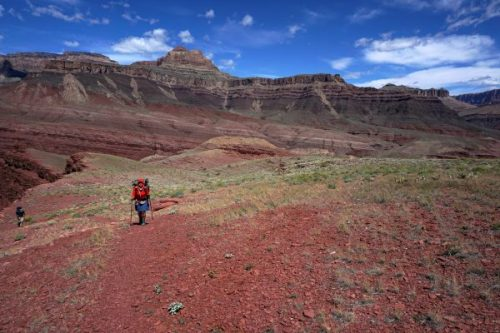 Traveling toward Escalante Creek, Escalante Route