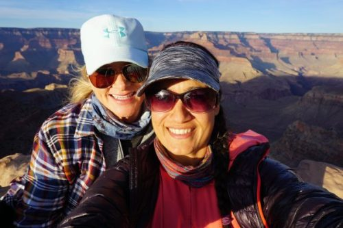 Best friends at Grand Canyon