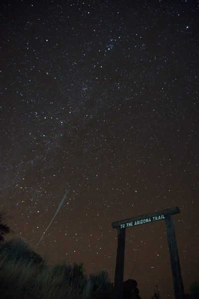 Starry night at the Arizona Trail portal