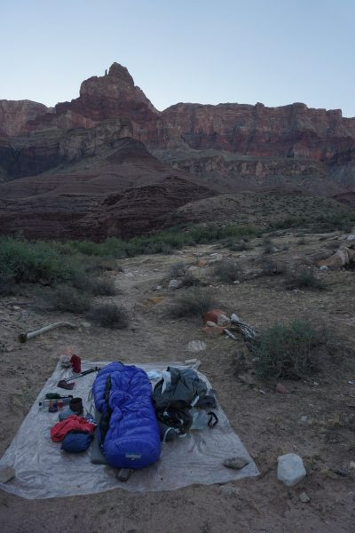 Last Camp under Comanche Point