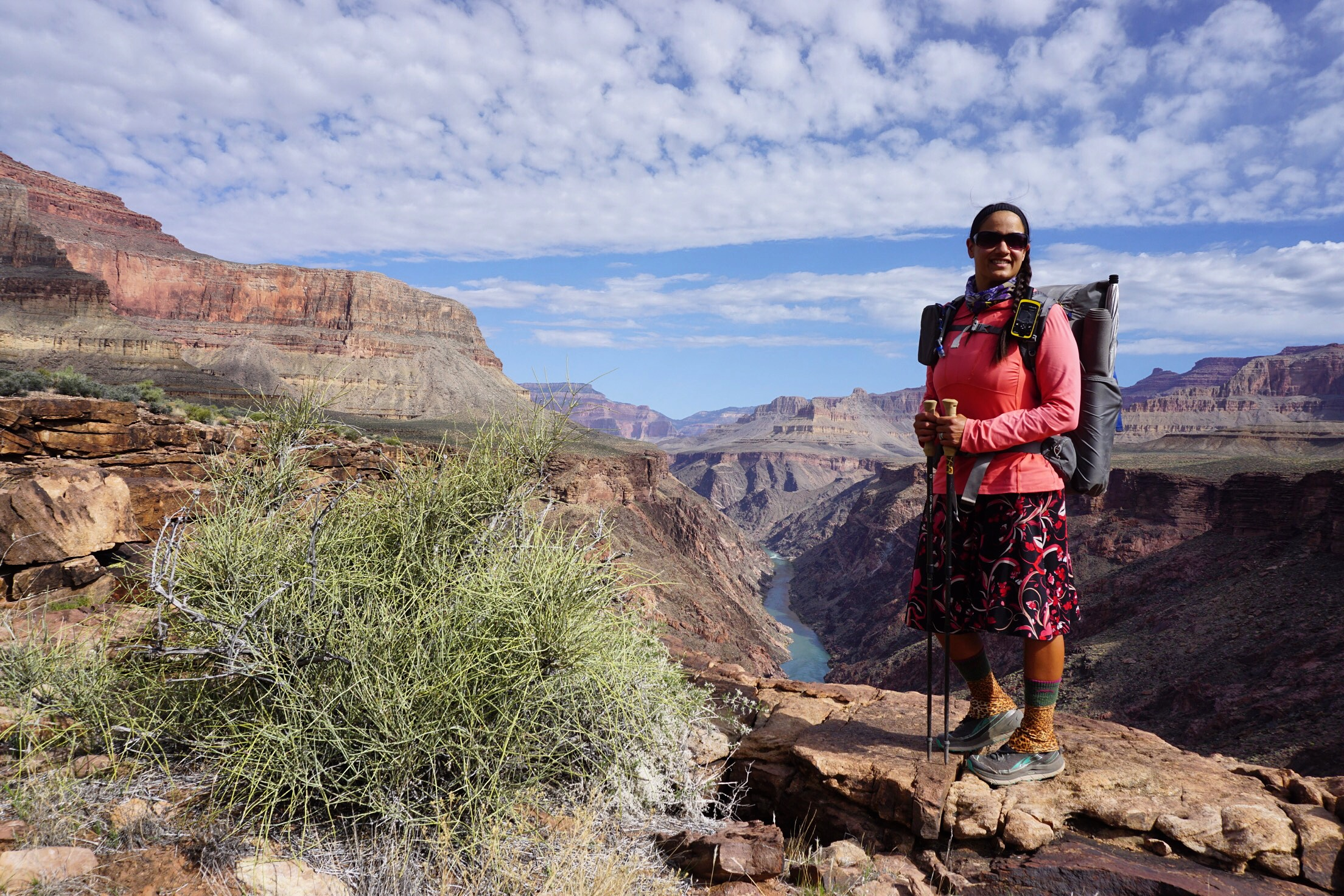 Grand Canyon Traverse - South Bass to Hermit