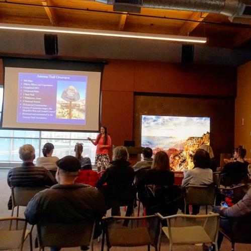 Hiking the Arizona National Scenic Trail Presentation- Seattle REI Flagship