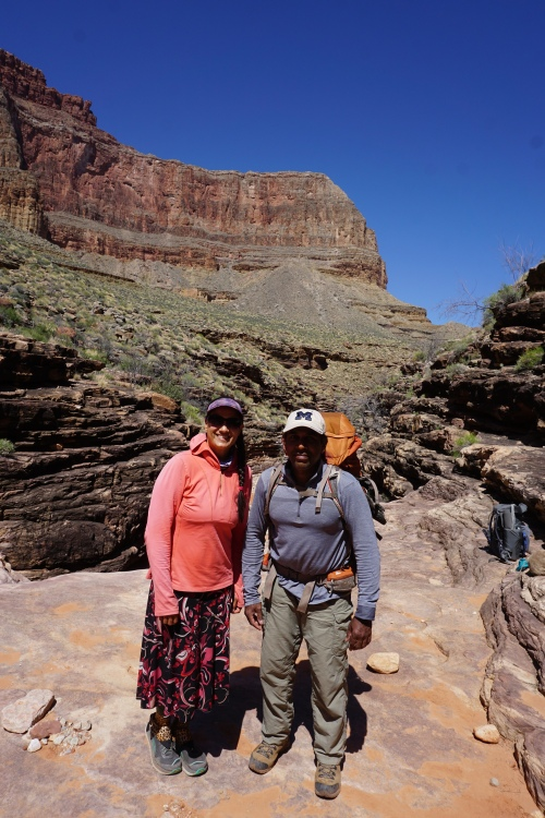 Indians in Grand Canyon