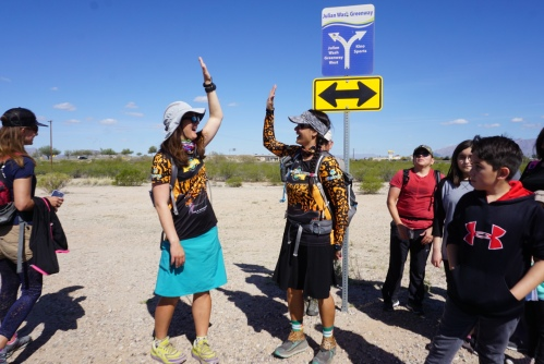 Liz and Sirena Hike The Loop Finish
