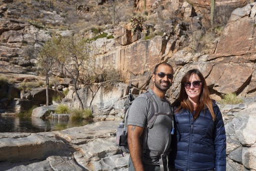 Shawn and Liz at Seven Falls