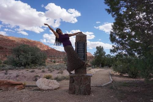 Sirena Arizona Trail Utah Border Obelisk
