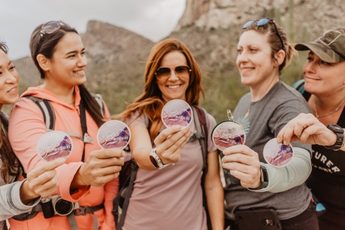 Women Who Hike - Traci Edwards Photo