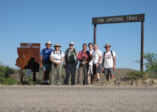 AZT Completion hike 2009